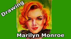 Drawing Marilyn Monroe. I wanna be loved by you