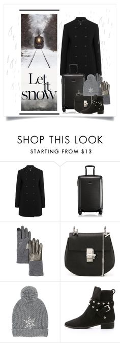 """""""Let It Snow... I Will Be Home For Thanksgiving"""" by conch-lady ❤ liked on Polyvore featuring Chloé, Tumi, Echo, M&Co and See by Chloé"""