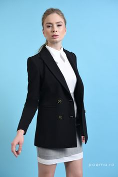 Blazer, Casual, Fashion, Poem, Moda, Fashion Styles, Blazers, Fasion, Casual Clothes