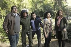 While on a mission to save lost hikers, Team Scorpion's helicopter crashes, igniting a massive wildfire that quickly closes in on them. Also, Sylvester must help their injured pilot who is unable to make it to safer ground. S1 E19. Pictured: Ari Stidham as Sylvester Dodd, unidentified actor, Eddie Kaye Thomas as Toby Curtis, Jadyn Wong as Happy Quinn. Photo: Sonja Flemming/CBS ©2015 CBS Broadcasting, Inc. All Rights Reserved