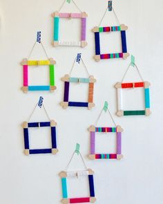 Security Check Required [New] The 10 Best Craft Ideas Today (with Pictures) – I decided to complicate the popsicle stick Popsicle Stick Picture Frame, Picture Frame Crafts, Diy Crafts For Adults, Diy For Kids, Diy Popsicle Stick Crafts, Craft Sticks, Yarn Crafts, Paper Crafts, Fathers Day Crafts