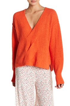 Coco V-Neck Knit Sweater by Free People on @nordstrom_rack