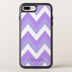 Purple Chevron iPhone 8 Plus/7 Plus Otterbox Case - girly gift gifts ideas cyo diy special unique