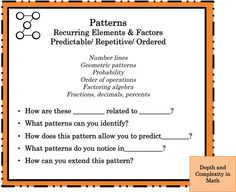 Differentiating Math for Gifted Learners -                       Envision Gifted! Differentiation for Gifted and Talented Learners