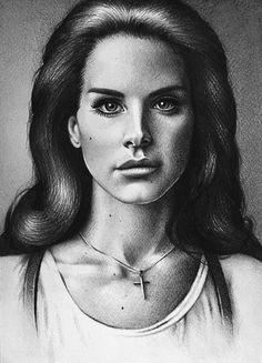 Lana Del Rey by pomidorova