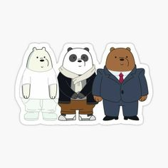Cartoon Crazy, Bear Cartoon, Printable Stickers, Cute Stickers, We Bare Bears Wallpapers, Bear Graphic, Bear Illustration, We Bear, Bear Wallpaper