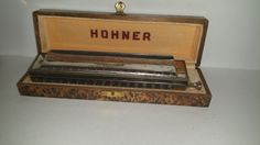 "Vintage,Hohner,Chromonica,Made in Germany,The 64 Chromonica,4 Octaves Professional Model ""C"",Original Box by AhNeatAhShop on Etsy"