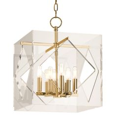 Room-by-Room Lighting Recipes Plus 16 Tips for Perfect Lighting ---- Hudson Valley Travis Chandelier