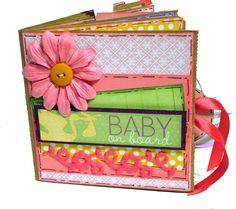 baby paper bay mini album
