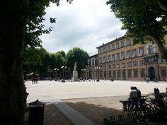 Piazza Napoleone nel Lucca, Toscana