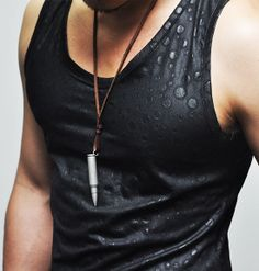 Tops :: Tanks :: Coated Span Cotton Embossed Dot Tank-Tanktop 32 - Mens Fashion Clothing For An Attractive Guy Look