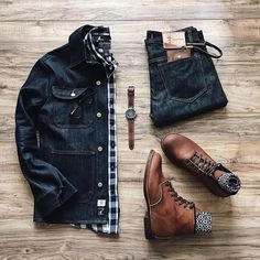 Stylish Mens Clothes That Any Guy Would Love – Mens Clothing Ideas - Me. - Stylish Mens Clothes That Any Guy Would Love – Mens Clothing Ideas – Men's fashion – - Rugged Style, Style Brut, Moda Men, Stylish Mens Fashion, Mens Autumn Fashion, Men Fashion, Fashion Ideas, Fashion Trends, Fashion Mode