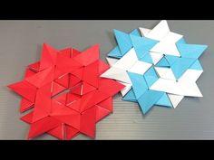 Easy Origami Christmas Tree Star - YouTube