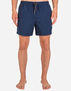 iriedaily - Flag X Swim Short navy blue