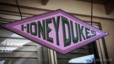 DIY Honey Dukes Sign