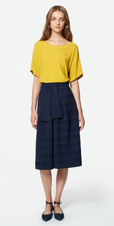 MAX&Co. SS 2016 - T-Shirt CANDELA / Skirt CANOA / Ballet Flats ACRONIMO