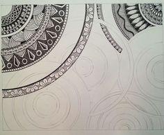 Judy's Zentangle Creations: Circles