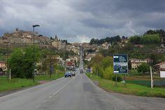 la strada per Anghiari