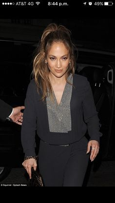 8cce2c366b0b Night on the tiles  Jennifer Lopez was pictured out and about in London on  Saturday