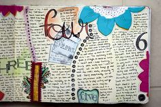 Who in the world has the time to make this incredibly amAzing journal??!?! SO jealous!!!