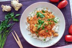 Fitness recepty s vysokým obsahom bielkovín Asian Recipes, Healthy Recipes, Ethnic Recipes, Healthy Food, Garam Masala, Cottage Cheese, No Cook Meals, Fried Rice, Tofu