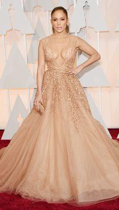 Jennifer Lopez's Oscars 2015 Red Carpet Dress