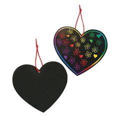 Magic Color Scratch Hearts -  $6.99 Makes 24