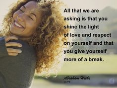 #abrahamhicks #you #shine
