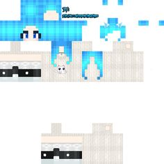 Minecraft Skins Rainbow, Minecraft Skins Kawaii, Minecraft Skins Aesthetic, Horse Armor, Nova Skin Gallery, Pumpkin Faces, Cute Anime Wallpaper, Cats, Blue