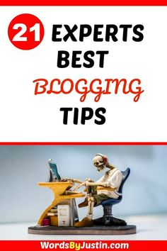 I've rounded up 21 top bloggers for their best blogging tips - learn from the experts!    #blogger #blogtips #blogadvice #bloggingtips #bloggers