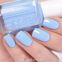 Essie Bikini So Teeny Nail Polish | Live Love Polish! This is my favorite!!!! Love love it