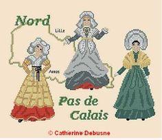 Et si vous voulez connaître le nom des coiffes, comment sont faits ces costumes...Achetez mes livres !
