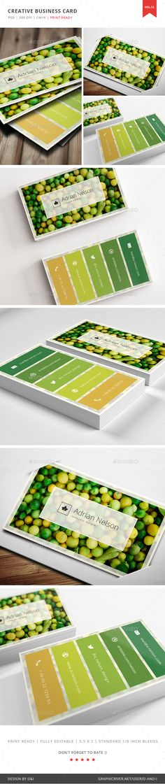 Creative Landscape Designer Business Card Template PSD. Download here: http://graphicriver.net/item/creative-landscape-designer-business-card-vol-53/16288710?ref=ksioks