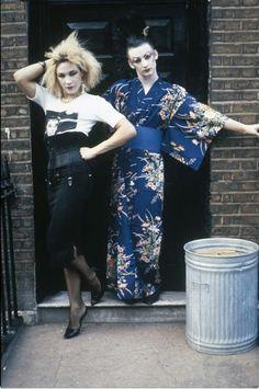 Marilyn and Boy George, London 1980.