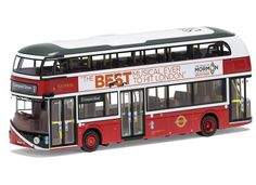 Corgi 1:76 Wrightbus NB4L Diecast Model Bus OM46616A This Wrightbus NB4L Heritage General Livery 11 Liverpool Street Diecast Model Bus is Red and Silver and has working wheels and also comes in a display case. It is made by Corgi and is 1:76 scale (approx. 13cm / 5.1in long). Go-Ahead London is the largest bus company in the capital. The Company employs approximately 7,000 staff from 18 locations, mainly in South and South West London, and their vehicle fleet is just over 2,300 buses, inc...