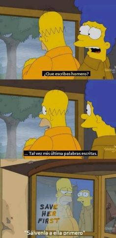 Homer being sweet - funny pictures - funny photos - funny images - funny pics - funny quotes - funny animals Simpsons Frases, Simpsons Quotes, The Simpsons, Funny Images, Best Funny Pictures, Funny Pics, It's Funny, Simpson Tumblr, Los Simsons