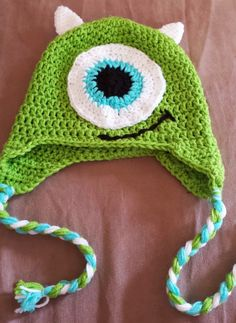 Crochet Monsters Inc Mike Wazowski par sunshinenserendipity sur Etsy