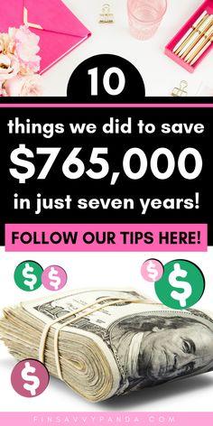 personal finance tips Ways To Save Money, Money Tips, Money Saving Tips, Saving Ideas, Money Challenge, Term Life, Finance Organization, Money Affirmations, Savings Plan