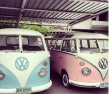 Inspiring picture bus, car. vw, cool, oldtimer, pink. Resolution: 500x500 px. Find the picture to your taste!