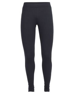 When you pack for your next adventure travel vacation, make sure you bring the Villa Leggings. Designed with the traveler in mind, they have a slightly lower, sculpted waistband that sits comfortably on the hip, and a relaxed bottom hem, giving them a casual style that fits as easily into a busy airport as it does on a mountain trail. Crafted from 260gm merino jersey, they keep you warm in cool conditions, but breathe well enough for comfort when it's warm. The also pack very small and fi...