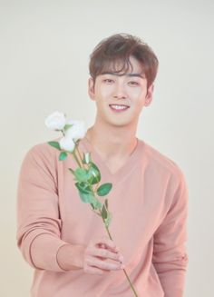 flower for you. Christian Tumblr, Andrew Christian, Cute Asian Guys, Cute Guys, Nuest Kpop, Let's Talk About Love, Bias Kpop, Nu Est, Big Sean