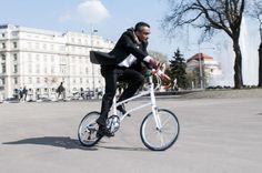 0.2秒で折りたためるスタイリッシュな自転車が登場