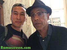 Rockin' it with #BreakingBad alum, Giancarlo Esposito  Please LIKE my Facebook page at Facebook.com/ramascreen