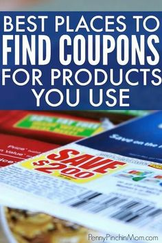 Where you can find the coupons you need to save money on groceries. Find printable coupons, those from inserts and other places!! How to use coupons | Grocery Savings | Coupons | Using Coupons | Grocery Budget #coupons #groceries #savingmoney Saving Money Chart, Money Saving Meals, Save Money On Groceries, Saving Tips, Gift Coupons, Grocery Coupons, Printable Coupons, Store Coupons, Printables