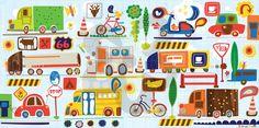 On the Move - Transportation Canvas Wall Art | Oopsy daisy