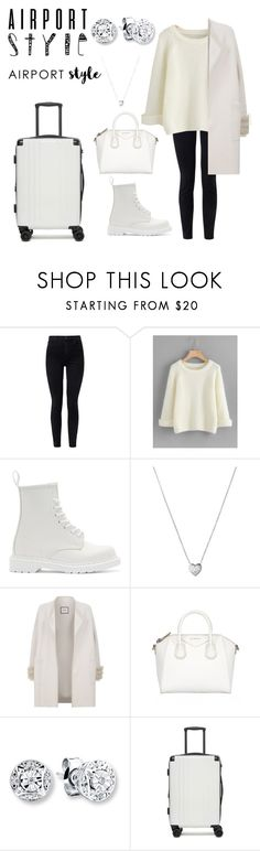 """""""🌼MY STYLE ®🌼"""" by mabule97kookie ❤ liked on Polyvore featuring J Brand, Dr. Martens, Links of London, Max & Moi, CalPak and airportstyle"""