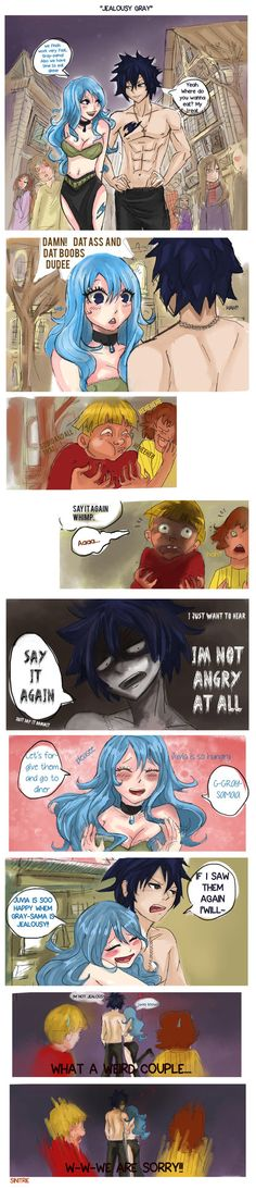 Don't lie Grey we all know your JEALOUS!!! xD
