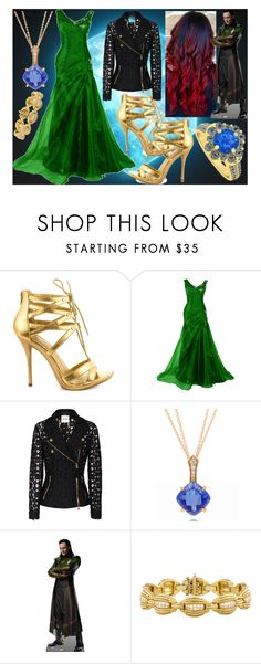 """In Stuttgart with Loki"" by slytheriner ❤ liked on Polyvore featuring Shoe Republic LA, Moschino Cheap & Chic, Frederic Sage and LoveBrightJewelry"