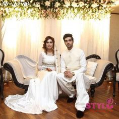 Furqan Qureshi and Sabrina Naqvi Got Married - Their Nikah Pictures and Video | Style.Pk