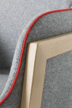 Upholstered easy #chair with armrests CHEVALET by GABER | #design @favarettoweb